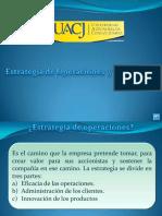 2.- Estrategia de Operaciones y Suministro