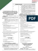 Ley Que Prorroga La Vigencia de Beneficios y Exoneraciones t Ley n 30899 1727064 6