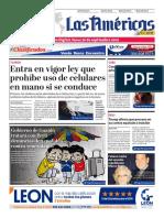 DIARIO LAS AMÉRICAS Edición digital del lunes 30 de septiembre de 2019