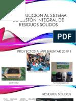 Introduccion Sistema Integrado de Gestion de Residuos
