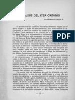 analisis del iter criminis