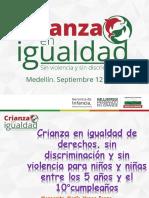 Crianza en igualdad de derechos, sin discriminación y sin violencia