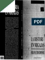 Dosse, Francois - La Historia en Migajas
