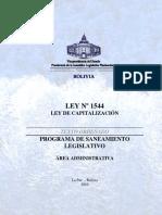 LEY 1544 to LeyDeCapitalización