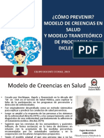 Clase N° 3 Modelo de creencias en salud y Modelo Transteórico de  Prochaska y DiIClemente