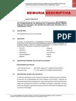 Memoria Descriptiva Huayanay Modificcado