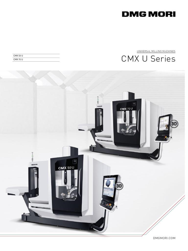 Dmg Mori Cmx 70 U Price