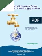Water Suply Schemes Sindh