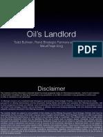 Oil's Landlord