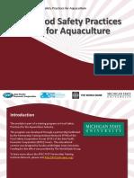 Aquaculture 2-Food Safety Hazards