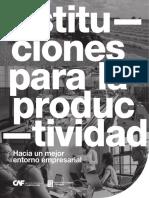 CAF - Instituciones Para La Productividad