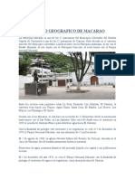 PARROQUIA ANTECEDENTES  MACARAO