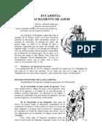 Tema 36.Eucaristía Sacramento de Amor