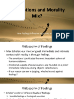 Do Emotions and Morality Mix 2
