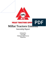 Millat Tractors Limited Final Report