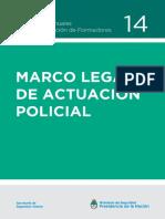 Manual Marco Legal de Actuación Policial