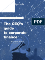 The CEOs guide to corporate finance