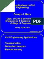 Application of GIS in Civil Engineering - Carolyn J. Merry