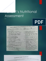 Assessment of Patient Nutritionppt Pam 2019