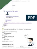 Estudios M y C - 16. EXAMEN SIMULACRO