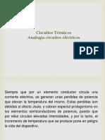 Circuitos Térmicos_analogía Circuitos Eléctricos