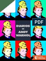 Diarios. Andy Warhol & Pat Hackett, 1989