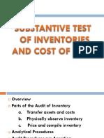audit in inventories