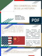 Guerra comercial USA vs. China NEGOCIACION DETALLES
