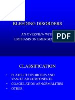Disorders of hemostasis - Dr. Bishop.ppt