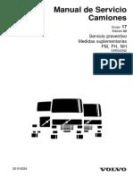 Manual de servicio Camiones