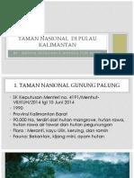 National Park in Kalimantan