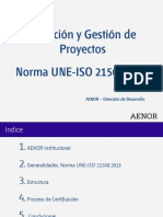 Norma Une-Iso 21500