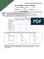 Evaluación Unidad de Geometría Esfera