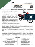 Moto lifan lf200gy