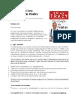 Resumen Psicologia de Ventas Brian Tracy