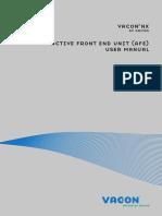 AKTIF CONVERTER  (Vacon-NX-AFE-User-Manual-DPD00906A-UK).PDF.pdf