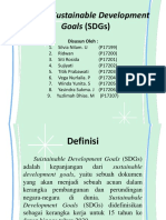 Konsep Sustainable Development Goals (SDGs