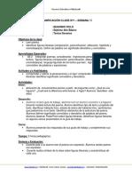 Planificacion Clase Lenguaje 7b Semana 15 2014