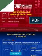 Ley General de Sociedades Nº 26887 Clases_compressed