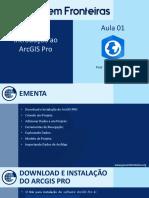 Arcgis Pro Aula01