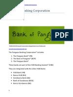 Pangaea Banking Corporation (PBC) $200.00 (USD)