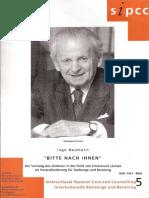 Emmanuel Levinas. Ingo Neumann. Bitte Nach Ihnem. Biografía de Levinas en Alemán