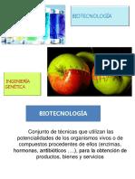 PPT Biotecnología