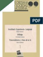 Artículo Diálogo de Levinas.