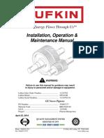 1103089-RRO3945140 Gearbox Lufkin