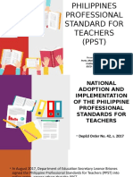 Philippines Professional Standard for Teachers Ppst