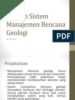 Elemen Sistem Manajemen Bencana Geologi.pdf