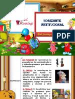 10- Horizonte Institucional