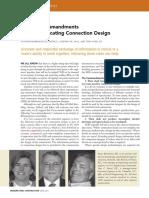 10 Commandment of Communicating Connection Design