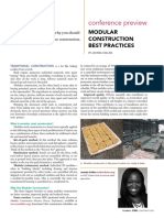 Modular Construction Best Practices